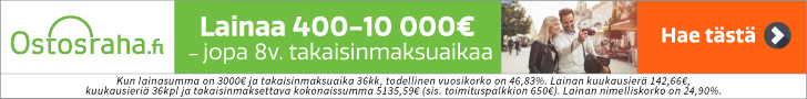 Lainaa jopa 10 000€ Ostosrahasta